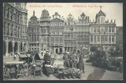 +++ CPA - BRUSSEL - BRUXELLES - Grand'Place   // - Places, Squares