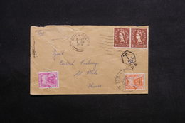 FRANCE - Taxes De St Malo Sur Enveloppe De Guernesey En 1958 - L 31228 - Postage Due Covers