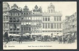 +++ CPA - BRUSSEL - BRUXELLES - Grand'Place Avec La Maison Des Boulangers - Nels  // - Places, Squares