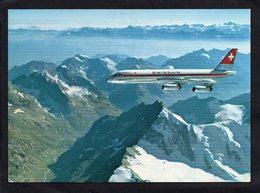 Transports Aviation Avions CORONADO Au Dessus Des Alpes Suisse(VALAIS)  état Impeccable - 1946-....: Ere Moderne