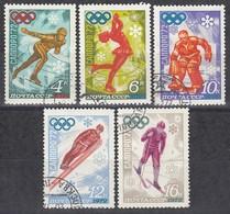1972 SAPPORO - UdSSR - MiNr: 3979-3983 Komplett - Winter 1972: Sapporo