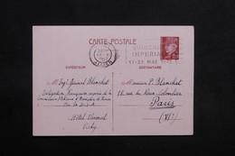 FRANCE - Entier Postal De La Délégation Française Auprès De La Commission D 'Armistice De Turin En 1942 - L 31230 - Storia Postale