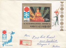 1972 SAPPORO - Ungarn - MiNr: 2728 Block 86 A Rekobeleg - Winter 1972: Sapporo