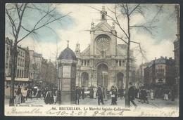 +++ CPA - BRUSSEL - BRUXELLES - Marché Sainte Catherine - Market   // - Markten