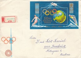 1972 SAPPORO - Ungarn - MiNr: 2769  Block 89 A Rekobeleg - Winter 1972: Sapporo