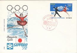 1972 SAPPORO - Japan - MiNr: 1140 FDC - Winter 1972: Sapporo
