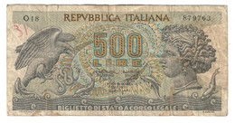 Italy 500 Lire 20/10/1967 - 500 Lire