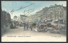 +++ CPA - BRUSSEL - BRUXELLES - Marché Du Sablon - Market   // - Markten
