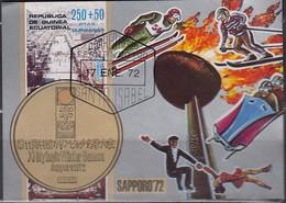 1972 SAPPORO - ÄquatGuinea - MiNr: A4 Block 4 - Winter 1972: Sapporo