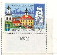 PIA - FINL  - 2002 : 550° Anniversario Della Città Di Rauma - (Yv 1133) - Finlande