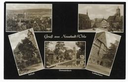 6710  NEUSTADT / ORLA  -  MEHRBILD  1966 - Neustadt / Orla