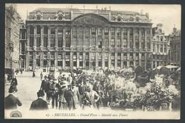 +++ CPA - BRUSSEL - BRUXELLES - Grand'Place - Marché Aux Fleurs - Market - Henri Georges   // - Markten