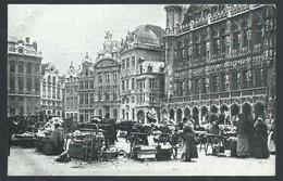 +++ CPA - BRUSSEL - BRUXELLES - Grand'Place - Marché Aux Fleurs - Market    // - Markten