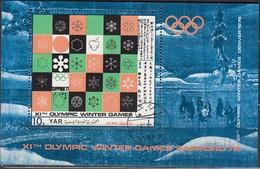 1972 SAPPORO - Nordjemen - MiNr: 1360 Block 161 - Winter 1972: Sapporo