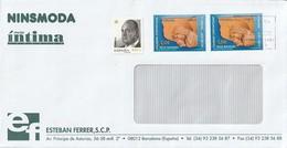 Lettera Da Spagna Con Francobolli Del 2009 - Bambini | Donne | Natale - 1931-Oggi: 2. Rep. - ... Juan Carlos I
