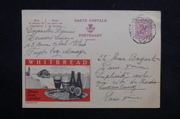 BELGIQUE - Publibel Whitbread  De Fayt Lez Manage  Pour Paris En 1965 - L 31239 - Stamped Stationery