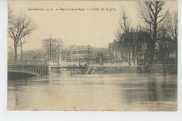 NEUILLY SUR SEINE - Inondation 1910 - Le Pont De La Jatte - Neuilly Sur Seine