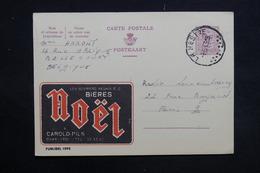 BELGIQUE - Publibel Bieres Noël De Belle Court Pour Paris En 1965 - L 31241 - Stamped Stationery