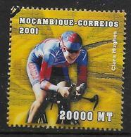 MOZAMBIQUE  N° 1572 * * ( Cote 4.50e ) Jo 2000 Cyclisme Hughes - Radsport