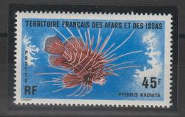 Afars Et Issas 1976 Série Poissons 435 1 Val. ** MNH - Afars Et Issas (1967-1977)