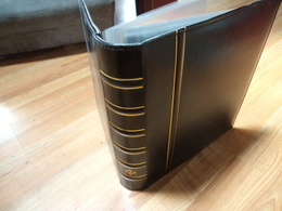 Leuchtturm Reliure 290x315 Mm - Avec 52 Feuilles Pour Billets Ou Lettres TB état - Albums & Reliures