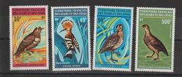 Afars Et Issas 1972 Série Oiseaux PA 68-71 4 Val. ** MNH - Afars Et Issas (1967-1977)