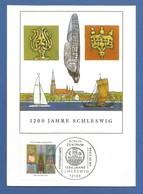BRD 2004  Mi.Nr. 2377 , 1200 Jahre Schleswig - Maximum Card - Berlin Zentrum Erstausgabe 08.01.2004 - BRD