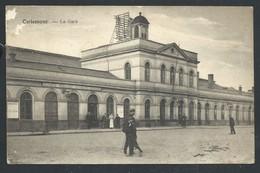 +++ CPA - TIRLEMONT - TIENEN - La Gare - Statie    // - Tienen