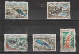 Afars Et Issas 1967 Série Faune 329-333 5 Val. Oblit. Used - Oblitérés