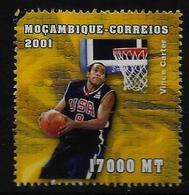 MOZAMBIQUE    N° 1566 * *  (cote 3.75e )  Basket - Basket-ball