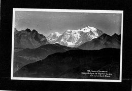 74 - Lac D'annecy - Teleferique Du Veyrier Du Lac - Vue Sur Le Mont Blanc -CPA Année 1945 Tampon Le Téléphérique - Veyrier