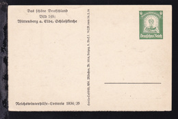Winterhilfe Mit Bild 148: Witenberg A. Elbe, Schlosskirche - Deutschland