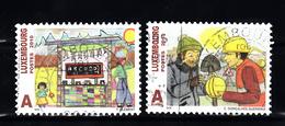 Luxemburg 2010 Mi Nr 1887 + 1888 - Gebruikt