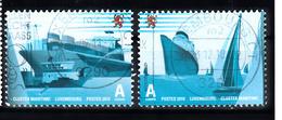 Luxemburg 2010 Mi Nr 1893 + 1894 : Schip. Ship - Gebruikt