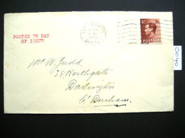 RARE KING EDWARD VIII DEFINITIVE FIRST DAY COVER 1st SEPTEMBER 1936 ( 0040 ) - 1902-1951 (Kings)