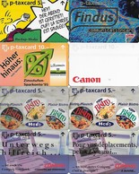 Switzerland: PTT - 22 Different Full Face Cards - Schweiz