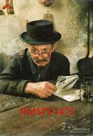 CPM - Dans L'oeil Du Vieillard On Voit De La Lumière En 1987 - AUVERGNE EN MAJESTE - Photo. F. DEBAISIEUX - Recto-Verso - Paysans