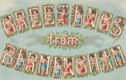 Alphabet Greetings From BIRMINGHAM, England, UK , 00-10s - Birmingham