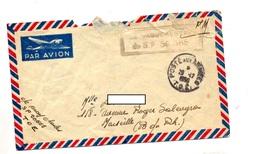 Lettre Franchise Militaire Cachet Poste Aux Armees  T O E + Vaguemestre 50665 - Marcofilia (sobres)