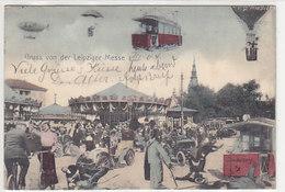 Gruss Von Der Leipziger Messe (in Der Zukunft) - 1904          (A-78-160419) - Leipzig