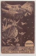 Poznan - Aero-Targ 1921 - Signed Card          (A-78-160419) - Polonia