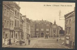 +++ CPA - HERVE - L'Hospice - Place Du Marché - Carte Animée   // - Herve