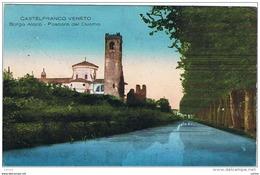 CASTELFRANCO  VENETO:  BORGO  ALOCO  -  POSCORO  DEL  DUOMO  -  PER  LA  GERMANIA  -  FP - Treviso
