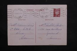 FRANCE - Entier Postal Type Pétain De Vienne Pour Montreuil En 1942 - L 31246 - Entiers Postaux