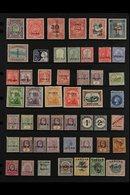 "BRITISH COMMONWEALTH ""SPECIMEN"" OVERPRINTS 1880's-1920's All Different Collection Of Mint Stamps With ""Specimen"" Overpri - Postzegels"