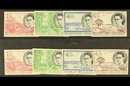 BELGIAN CONGO 1955 King Baudouin Pictorial Sets, COB 329/336 IMPERF,, Fine Never Hinged Mint. (8 Stamps) For More Images - Unclassified