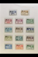 1971-95 FINE NEVER HINGED MINT COLLECTION On Pages Incl. 1971 Surcharges Set, 1971 Treaty Set, 1973 Most To £1, 1975-81  - British Antarctic Territory  (BAT)