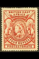 1897 4r Carmine, SG 95, Mint With Large Part Gum. For More Images, Please Visit Http://www.sandafayre.com/itemdetails.as - Kenya, Uganda & Tanganyika