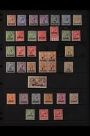 1911-21 KGV MINT COLLECTION An Attractive Collection Of KGV Issues Presented On A Stock Page That Includes 1911-13 Set T - Brits-Levant