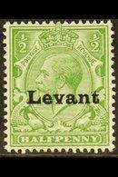 "1916 SALONICA ½d Green ""Levant"" Opt'd, SG S1, Very Fine Mint For More Images, Please Visit Http://www.sandafayre.com/ite - Brits-Levant"